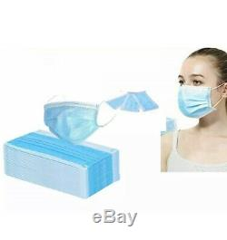 1000 PCS Disposable Face Mask Surgical Medical Dental Industrial 3 Ply Best Deal