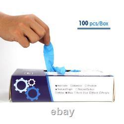10-1000pc Disposable Nitrile Exam Dental Medical Gloves Powder Free Industrial