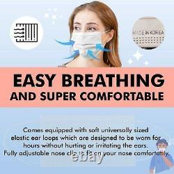 1200 PCS Made in Korea MB Filter Face Dental Mask Medical Surgical Good Day