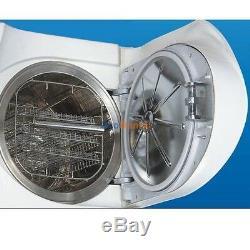 14L Dental Autoclave Sterilizer Medical Vacuum Steam Sterilization with Printer