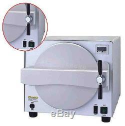 18L 900W Autoclave Medical Steam Sterilizer Dental Lab Equipment Safety Valve CE