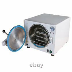 18L Dental Autoclave Steam Sterilizer Medical Sterilization Equipment US STOCK