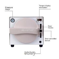 18L Dental Autoclave Steam Sterilizer Medical Sterilization SS#304