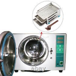 18L Dental Autoclave Steam Sterilizer Medical Sterilizition Drying Function UPS