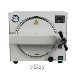 18L! Dental Autoclave Steam Sterilizer Medical sterilizition curing light FDA CE