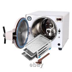 18L Dental Medical Autoclave Steam Sterilizer 900W Sterilization Stainless UPS