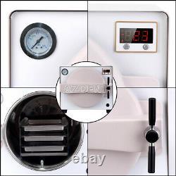 18L Dental Medical Autoclave Steam Sterilizer Stainless Steel #304 900W 110V