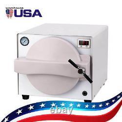 18L Dental Medical Autoclave Steam Sterilizer Vacuum Steam Sterilization