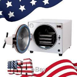 18L Medical Autoclave Steam Sterilizer sterilization Dental Lab Equipment FDA CE