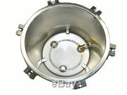 18L Steam Autoclave Sterilizer Lab Dental Medical Sterilization Commercial