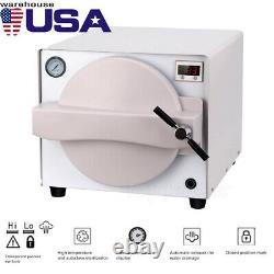 18 Liter 900W Dental Upgraded Autoclave Steam Sterilizer Medical Sterilization
