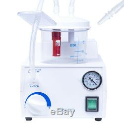 1PC 110V/220V Dental Lab Portable Suction Unit Medical Aspirator Vacuum Phlegm