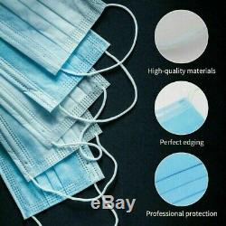 2000 PCS Face Mask Medical Surgical Dental Disposable 3-Ply Mouth Cover LOT
