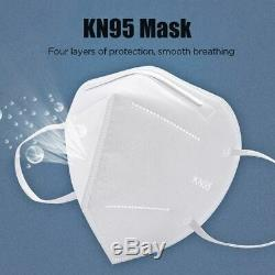 200 Pcs KN95 Face Mask Medical, Surgical, Dental 5 Layers Mouth Cover Shield