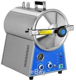 24L Dental Autoclave Steam Sterilizer Medical Sterilization Lab Equipment DHL