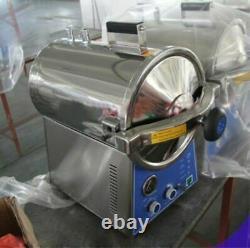 24L Dental Autoclave Steam Sterilizer Medical Sterilization Lab Equipment US UPS