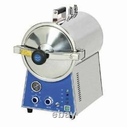 24L Tabletop Dental Autoclave High Pressure Medical Steam Sterilizer TM-T24J CE