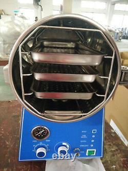 24L Tabletop Medical Steam Sterilizer Dental Autoclave Sterilizer TM-T24J US