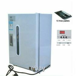 27L Dental Medical UV Sterilizer with Timer Disinfection Cabinet +10 Free Plates