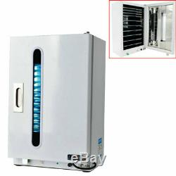 27L Medical Dental Surgical Instruments UV Sterilizer Disinfection Cabinet +Tray