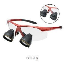2.5X Ultra-light Professional Dental Glasses Medical Magnifier Binocular Loupes