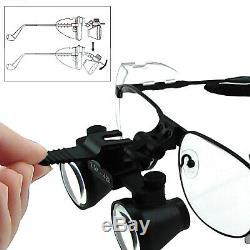 2.5x Magnification Nickel Alloy Frame Dental Surgical Medical Binocular Loupes