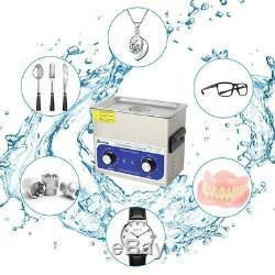 3L Digital Stainless Steel Dental Medical 3 Liter Ultrasonic Cleaner