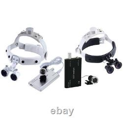 3.5X Dental Surgical Binocular Medical Magnifier Loupes/LED Headlight Headband
