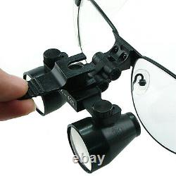 3.5x Magnification Galilean Style Titanium Frame Dental Medical Surgical Loupes