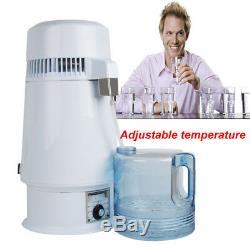 4L/1Gal Safty Electric Dental/Medical/Lab Home Water Distiller Alcohol Still