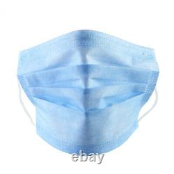 5000 PCS Face Mask Medical Surgical Dental Disposable 3-Ply Earloop Mouth Cover