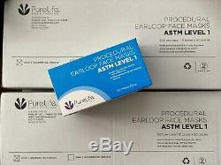 500 PCS Disposable Face Mask Surgical Medical Dental ASTM Level 1 Earloop