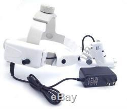 5W Dental LED Surgical Headlight Medical Headband Light Lamp Good Light Spot ENT
