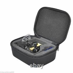 5X Dental Loupes Surgical Medical Binocular Magnifier Glasses With Carry Case CE
