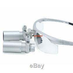 5X Medical Loupes Magnifier Binocular Eyeglasses Dental Loupe Glasses Eye Loupes