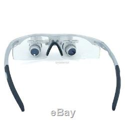 5.0X Dental Loupes Binocular Lab Microsurgery Magnifier Medical Glass Loupe