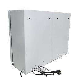 60L Dental Medical UV Sterilizer Double Door UV Disinfection Cabinet + 20 Plates