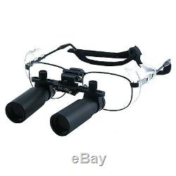 6.0x Magnification Dental Loupes Surgical Medical Binocular, 45mm Field of View