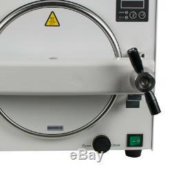 900W Medical Dental Steam Sterilizer Autoclave Pressure Lab Equipment USA 18L