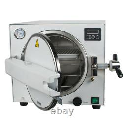 Autoclave Medical Steam Sterilizer Unit with tray 18L 134/0.22Mpa Dental Lab CE