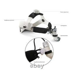 CE 3With5W Dental Surgery LED Medical Surgical Head Light Headlamp All-in-one Type