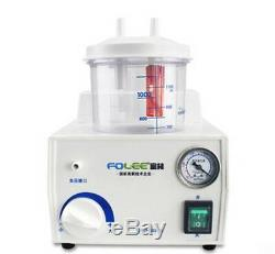 CE FDA Portable Dental Medical Emergency Vacuum Phlegm Suction Unit Electric