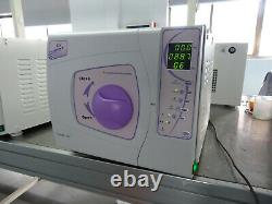 CE approved Laboratory Medical Class B table top Dental autoclave sterilizer 12L