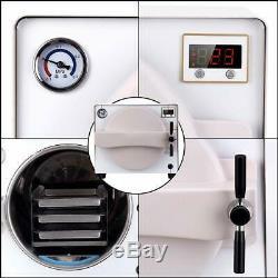 Dental 18L Medical Autoclave Vacuum Steam Sterilizer 110V LK-D14 Lab Euipment