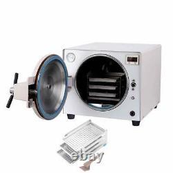 Dental 18L Medical Autoclave Vacuum Steam Sterilizer Disinfection Cabine LK-D14