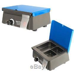 Dental Autoclave Steam Sterilizer Medical sterilizition + Analog Wax Heater Pot