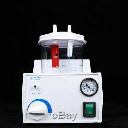 Dental Electric Portable Medical Emergency Vacuum Phlegm Suction Unit 1000mL