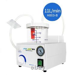 Dental Electric Suction Unit Low Noise Vacuum Phlegm Medical Emergency Use 220V