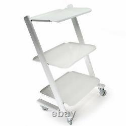 Dental Equipment Medical Steel Cart Trolley Doctor Dentist Trolly for Spa Salon