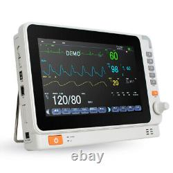 Dental Medical 10 Patient Monitor ICU CCU Vital Sign ECG Machine Multi-function